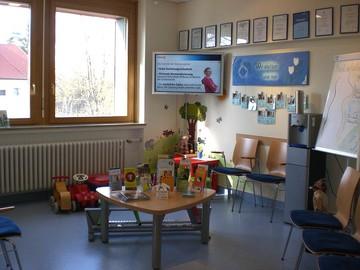 Wartezimmer, Gemeinschaftspraxis Geburtshilfe