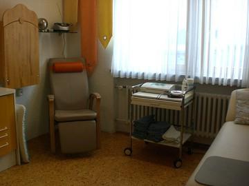 Gemeinschaftspraxis Gynäkologie, Schwangerenzimmer